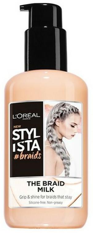 Cremă pentru păr - Loreal Stylista The Braid Milk Hair Styling Cream — Imagine N1