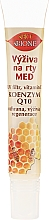 Parfumuri și produse cosmetice Balsam de buze - Bione Cosmetics Honey + Q10 Nourishment With Vitamins E, A And D Lip