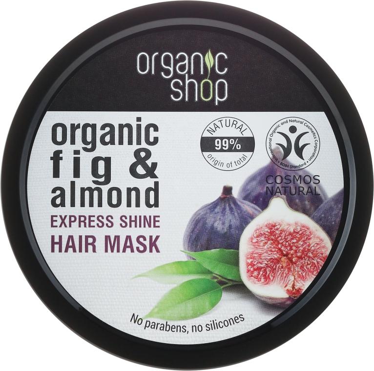 "Mască de păr ""Smochine grecești"" - Organic Shop Organic Fig Tree and Almond Hair Mask — Imagine N1"