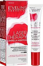 Parfumuri și produse cosmetice Cremă pentru zona ochilor - Eveline Cosmetics Laser Therapy Centella Asiatica