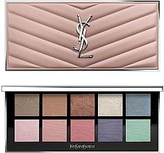 Parfumuri și produse cosmetice Paletă de machiaj pentru ochi și față - Yves Saint Laurent Couture Colour Clutch Palette