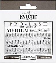 Parfumuri și produse cosmetice Extensii gene - Eylure Black Individual Pro Medium Length Lashes