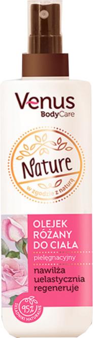 Ulei de trandafir pentru corp - Venus Nature Rose Body Oil
