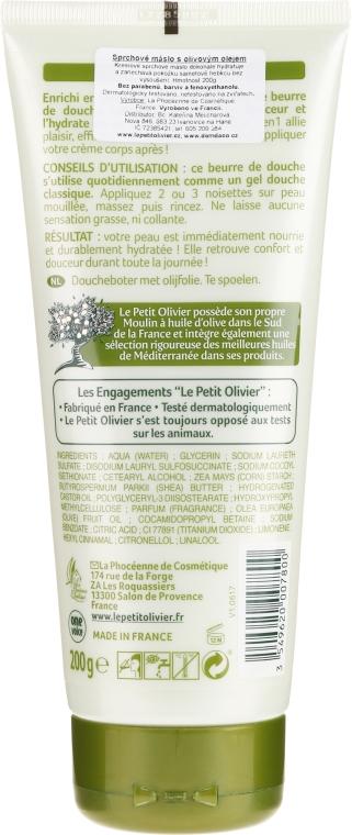 "Ulei de duș ""Ulei de măsline"" - Le Petit Olivier Shower Butter Olive Oil — Imagine N2"