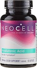 Parfumuri și produse cosmetice Supliment nutritiv, 100 mg, 60 - NeoCell Hyaluronic Acid