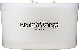 """Parfumuri și produse cosmetice Lumânare parfumată """"Serenity"""" pentru 3 fitile - AromaWorks Serenity Candle 3-wick"""