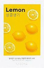 Parfumuri și produse cosmetice Mască cu extract de lămâie pentru față - Missha Airy Fit Lemon Sheet Mask