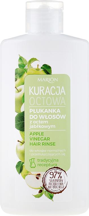 Agent de clătire pentru păr gras - Marion Apple Vinegar Hair Rinse — Imagine N1