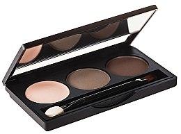 Parfumuri și produse cosmetice Paletă fard de sprâncene - Hean Paddle Eyebrow Professional Set