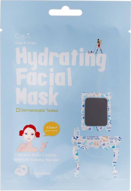 Mască de țesut pentru față - Cettua Hydrating Facial Mask — Imagine N1