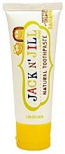 Parfumuri și produse cosmetice Pastă de dinți pentru copii, cu calendulă și gust de banane - Jack N' Jill