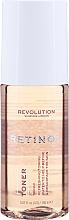 Parfumuri și produse cosmetice Toner facial anti-îmbătrânire - Revolution Skincare Toner With Retinol