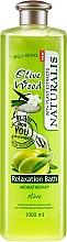 Parfumuri și produse cosmetice Spumă de baie - Naturalis Olive Wood Relaxation Bath