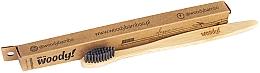 "Parfumuri și produse cosmetice Periuță de dinți din bambus ""Classic"" moale - WoodyBamboo Bamboo Toothbrush Classic"