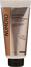 Parfumuri și produse cosmetice Șampon cu unt de shea și ulei de avocado - Brelil Numero Nourishing Shampoo With Shea Butter