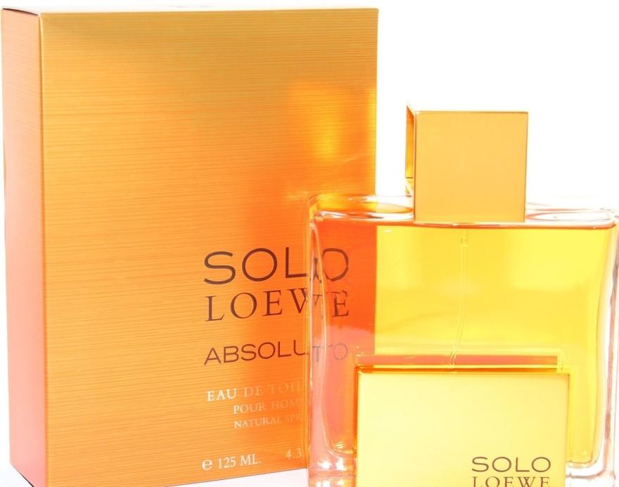 Loewe Solo Loewe Absoluto - Apă de toaletă — Imagine N2