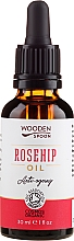 Ulei de trandafir - Wooden Spoon Rosehip Oil — Imagine N1
