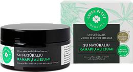Parfumuri și produse cosmetice Cremă universală cu ulei natural de cânepă pentru față și corp - Green Feel's Universal Face And Body Cream