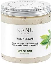 "Parfumuri și produse cosmetice Scrub pentru corp ""Ceai verde"" - Kanu Nature Green Tea Body Scrub"