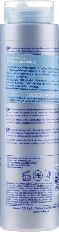 Șampon nutritiv și regenerant pentru păr uscat și deteriorat - Vitality's Intensive Nutriactive Shampoo — Imagine N2