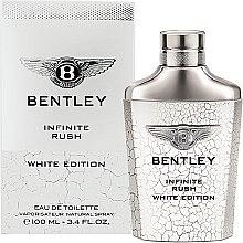Parfumuri și produse cosmetice Bentley Infinite Rush White Edition - Apă de toaletă