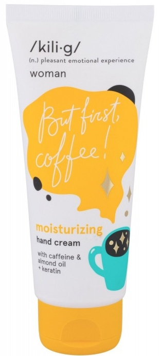 Cremă de mâini - Kili·g Woman Moisturizing Hand Cream — Imagine N1