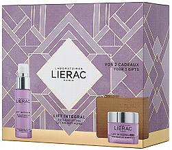 Parfumuri și produse cosmetice Set - Lierac Lift Integral Nutri (f/cr/50ml + f/ser/30ml + pouch)