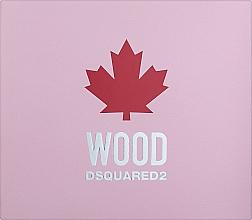 Parfumuri și produse cosmetice Dsquared2 Wood Pour Femme - Set (edt/50ml + sh/gel/50ml + b/lot/50ml)