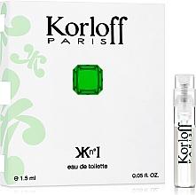 Parfumuri și produse cosmetice Korloff Paris Kn°I - Apă de toaletă (tester)