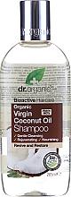 "Parfumuri și produse cosmetice Șampon ""Ulei de cocos"" - Dr. Organic Bioactive Haircare Virgin Coconut Oil Shampoo"