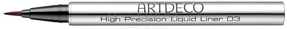 Eyeliner - Artdeco High Precision Liquid Liner — Imagine 03 - Brown