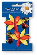 Parfumuri și produse cosmetice Set elastice de păr 2 buc., 21503 - Top Choice