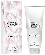 Parfumuri și produse cosmetice Replay Stone Supernova For Her Body Shampoo - Gel de duș