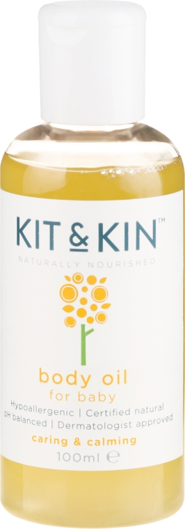 Ulei de corp - Kit and Kin Body Oil — Imagine N1