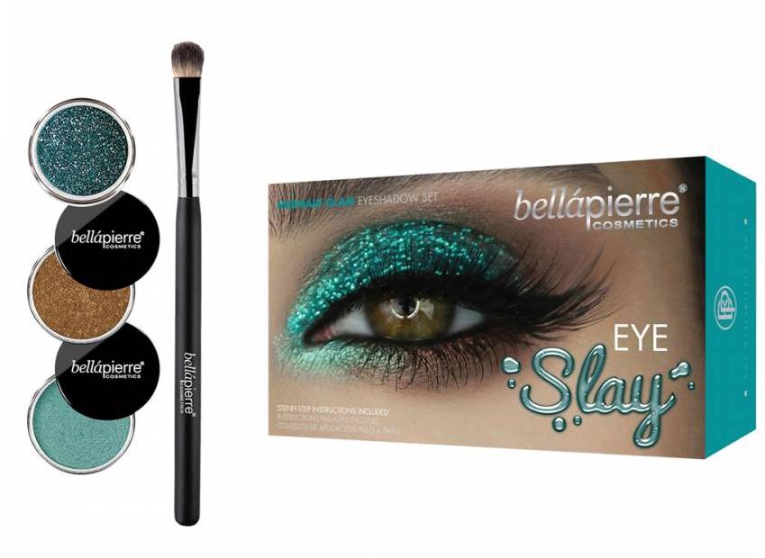 Set pentru machiajul ochilor - Bellapierre Eye Slay Kit Mermaid Glam — Imagine N1