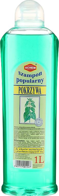 """Șampon de păr """"Urzică"""" - Achem Popular Nettle Shampoo"""