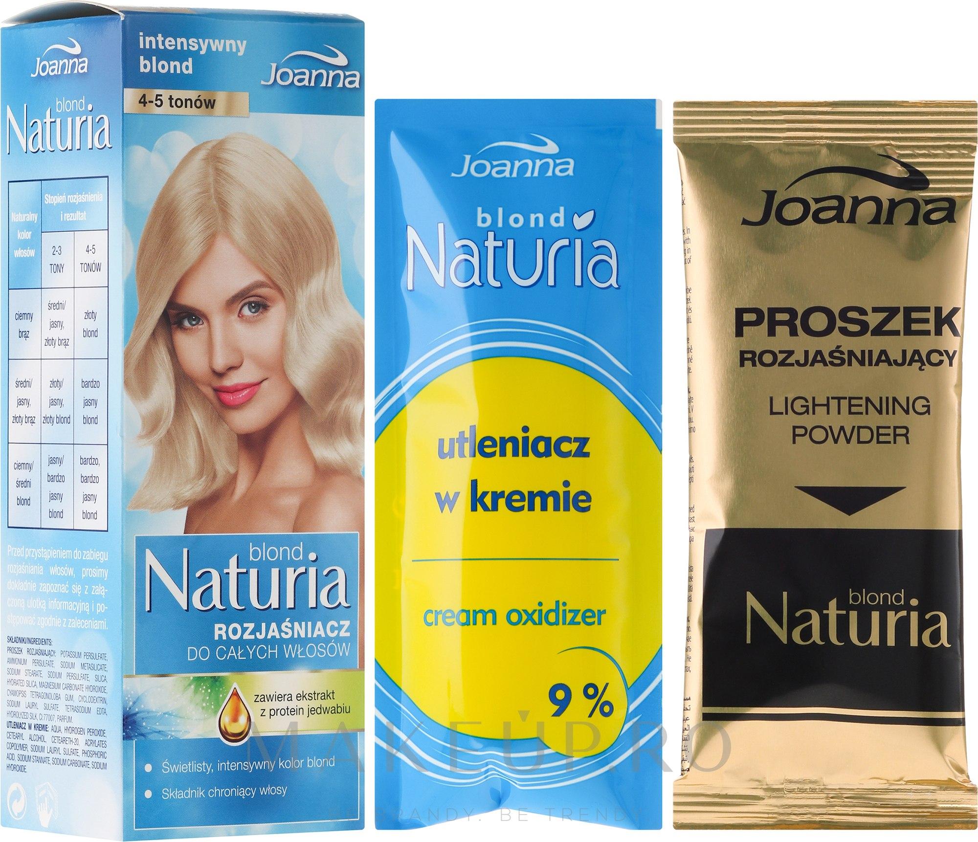 Iluminator pentru toată lungimea părului - Joanna Hair Naturia Blond — Imagine 95 g