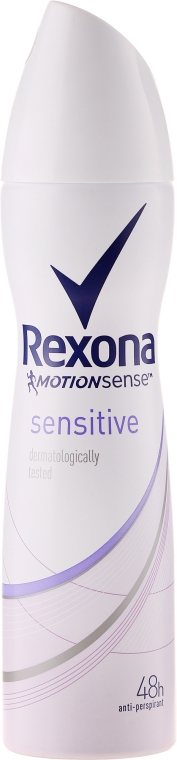 Deodorant spray - Rexona MotionSense Sensitive 48h