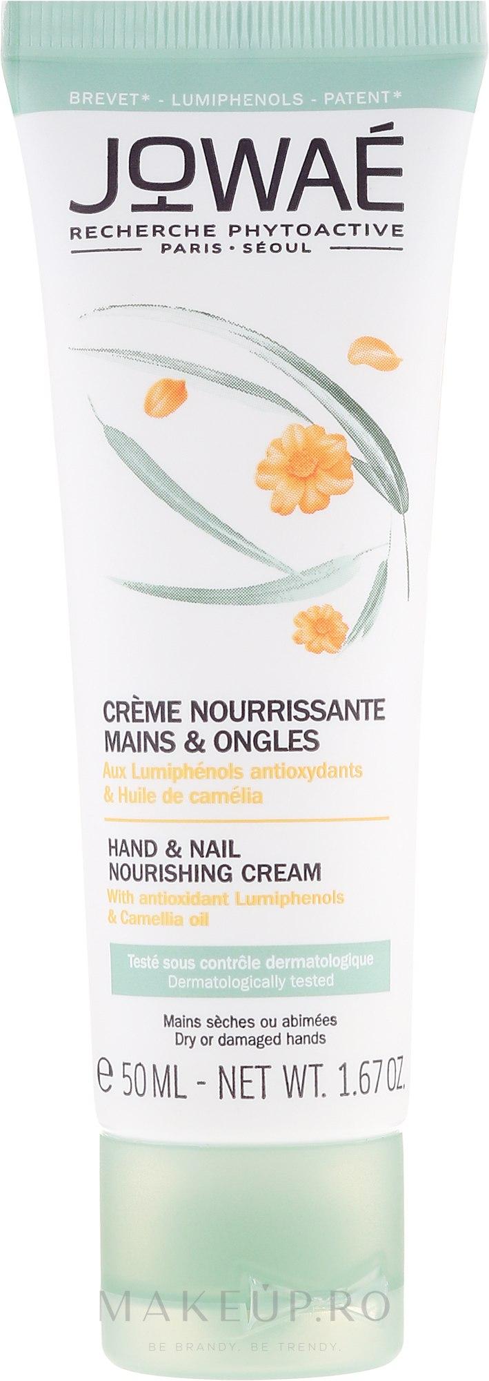 Cremă pentru mâini și unghii - Jowae Hand and Nail Nourishing Cream — Imagine 50 ml
