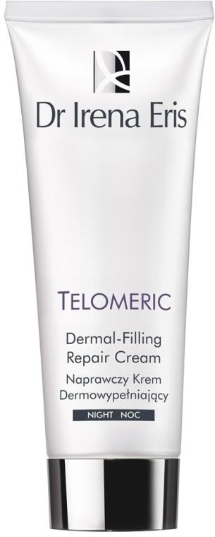 Cremă antirid de noapte pentru față - Dr Irena Eris Telomeric Dermal Filling Repair Night Cream — Imagine N2