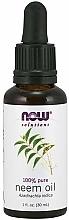 Parfumuri și produse cosmetice Ulei de neem - Now Foods Solution Neem Oil
