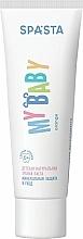 """Parfumuri și produse cosmetice Pastă naturală de dinți pentru copii """"Protecție și Îngrijire minerală"""" - Spasta My Baby Toothpaste"""