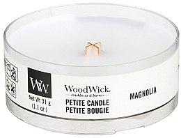Parfumuri și produse cosmetice Lumânare aromată în suport de sticlă - Woodwick Petite Candle Magnolia