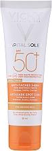 Parfumuri și produse cosmetice Cremă tonifiantă împotriva petelor pigmentare - Vichy Ideal Soleil Anti Dark Spot Spf 50