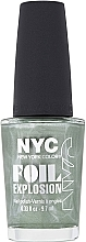 Parfumuri și produse cosmetice Lac de unghii - NYC Foil Explosion Nail Polish