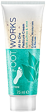 Parfumuri și produse cosmetice Peeling cu mentă pentru picioare - Avon Footworks