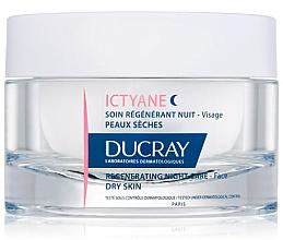 Parfumuri și produse cosmetice Cremă revitalizantă de noapte pentru față - Ducray Ictyane Regenerating Night Care