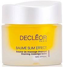 Parfumuri și produse cosmetice Balsam cu efect de drenaj pentru remodelarea corpului - Decleor Baume Slim Effect