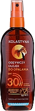 Parfumuri și produse cosmetice Ulei de protecție solară pentru corp, impermeabil SPF30 - Kolastyna