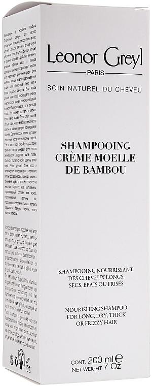 Șampon-balsam pentru păr lung - Leonor Greyl Shampooing Creme Moelle de Bambou — Imagine N1